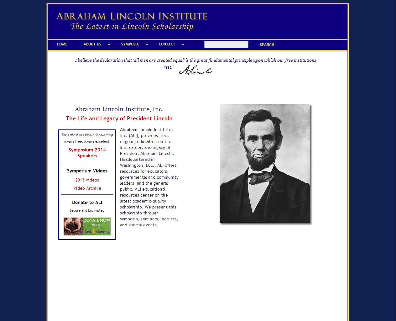 Abraham Lincoln Institute